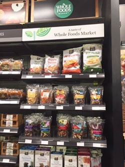Amazon Go Whole Food products