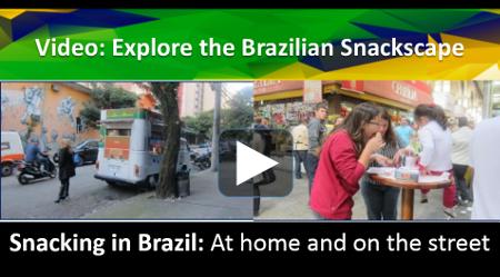 Brazilian snacking video