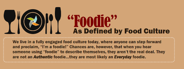 Foodie as defined by food culture