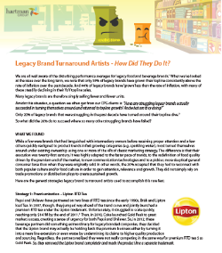 legacy brand turnover cover