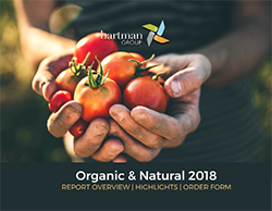 Organic & Natural 2018 report cover
