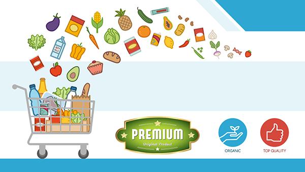 premium groceries