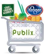 Publix shopping cart