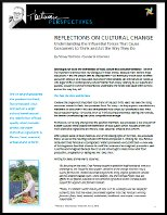 reflections on cultural change cover