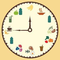 snack clock