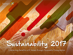 Sustainability 2017 report cover