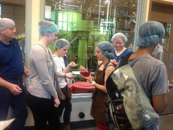 Theo Chocolate factory tour