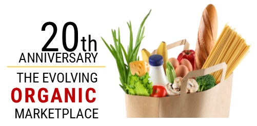 20th anniversary of organics