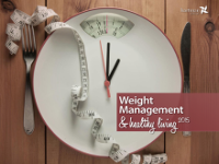 Weight management and healthy living report cover
