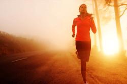 woman joggin