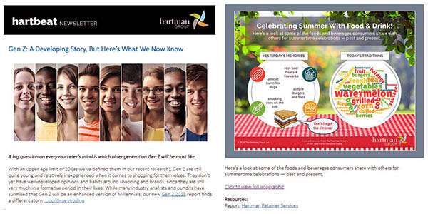 Hartman Group Infographic Example