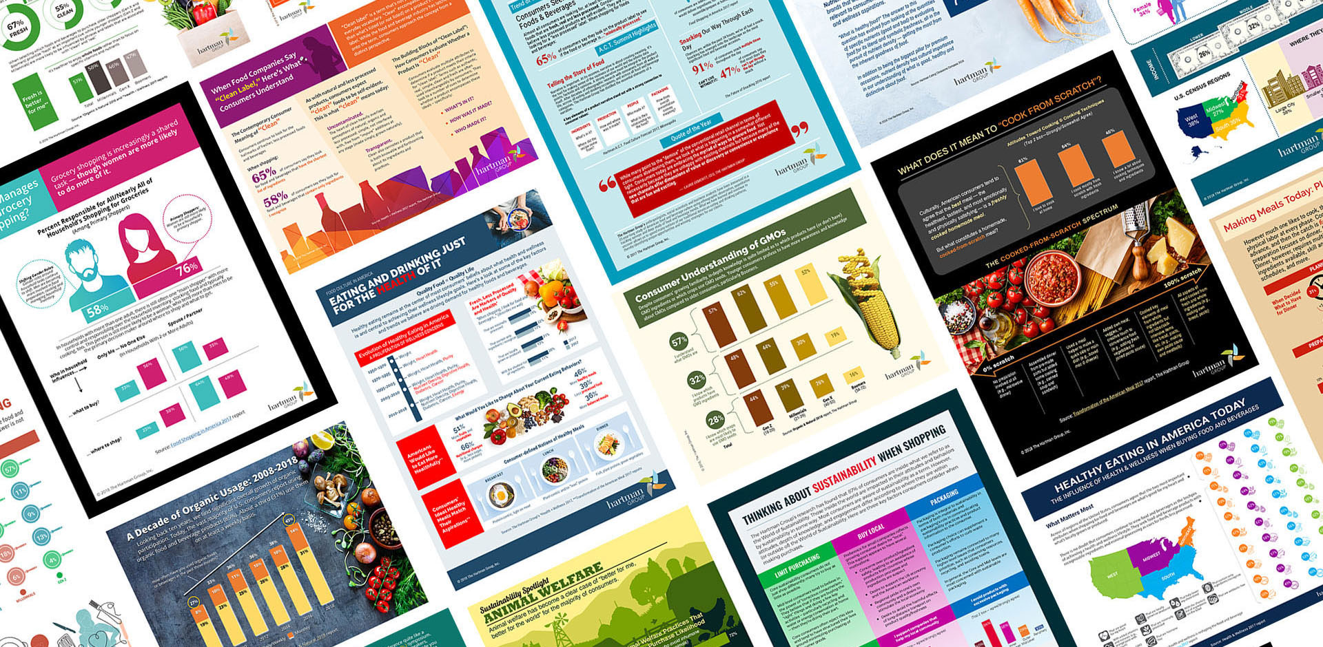 Hartman Group Infographic Covers