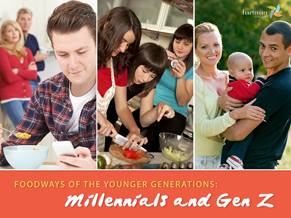 THG Foodways of the Younger Generations – Millennials & Gen Z